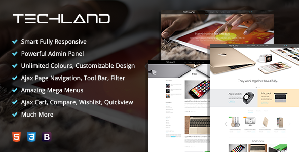 MT Techland Digital Technology Magento Theme