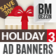 Holiday Gifts Web Banners - GraphicRiver Item for Sale