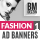 Trendy Banner Ads - GraphicRiver Item for Sale
