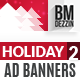 Holiday Special Web Ad Banners - GraphicRiver Item for Sale