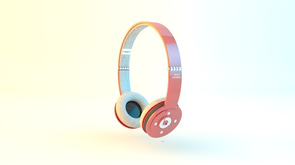 Headphones | Beats by Dre - 3DOcean Item for Sale