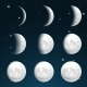 Moon Phases - GraphicRiver Item for Sale