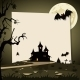 Halloween Background With Autumn Landscape - GraphicRiver Item for Sale
