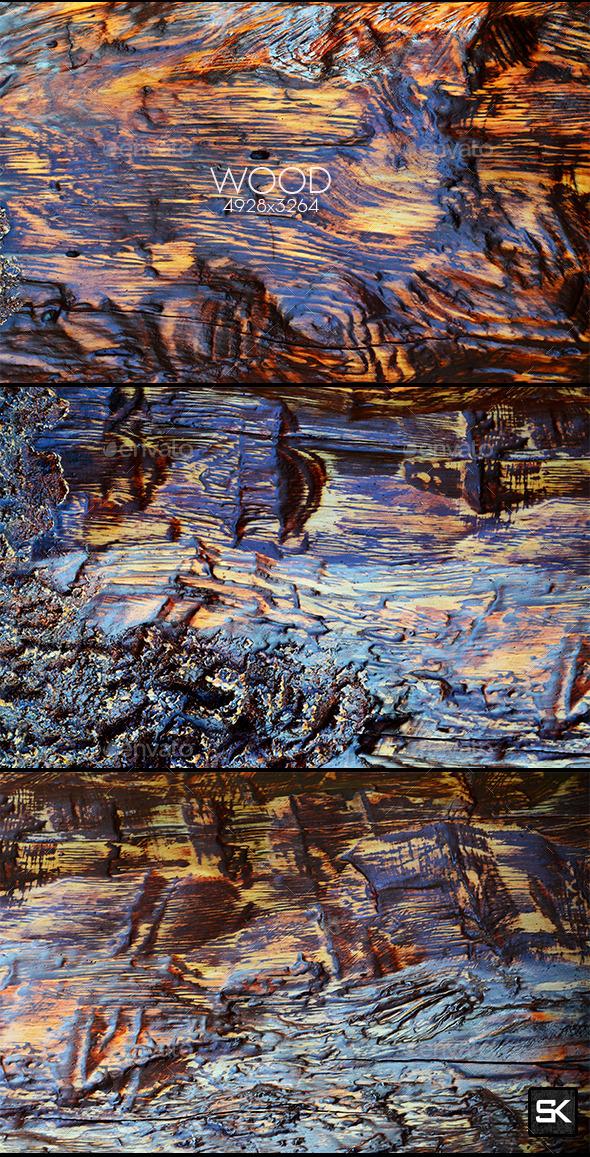 Vintage Wood.10 - Wood Textures