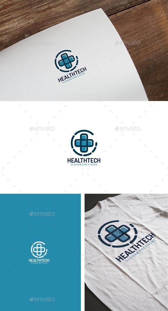 Health Tech Logo - Logo Templates