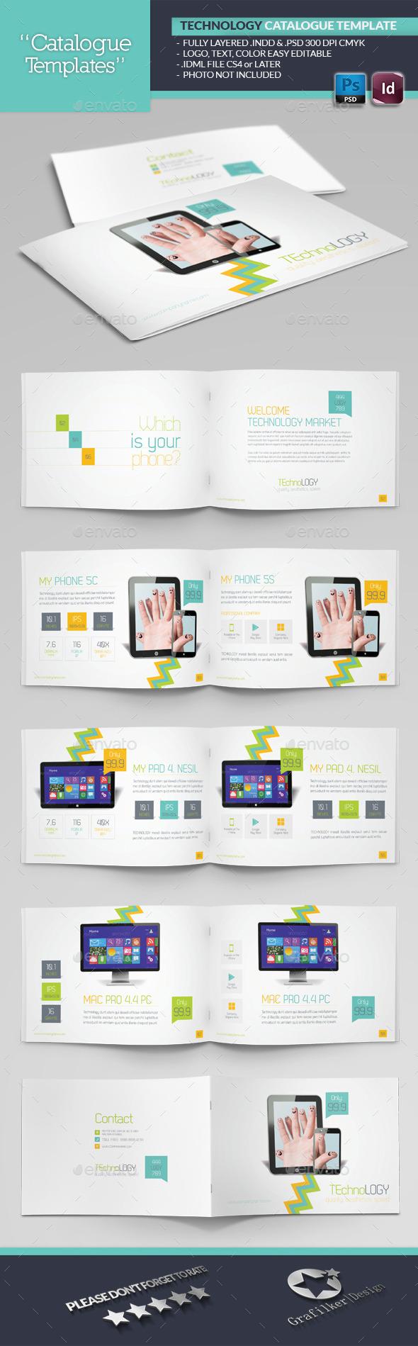 Tecnology Catalogue Template - Catalogs Brochures
