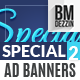 Special Day Ad Banners - GraphicRiver Item for Sale