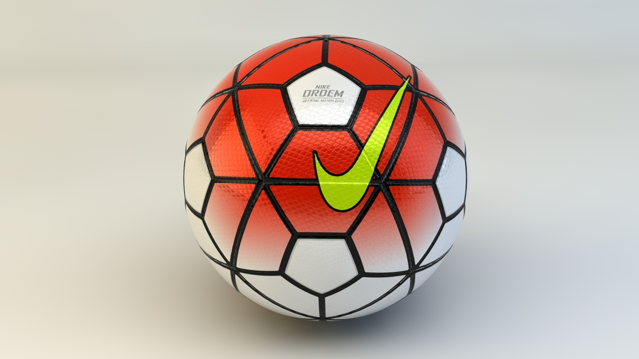 38076fbbbc440 Nike Ordem 3 Official game ball 3D model by rahmanjin