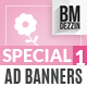 Mothers Day Ad Banners - GraphicRiver Item for Sale