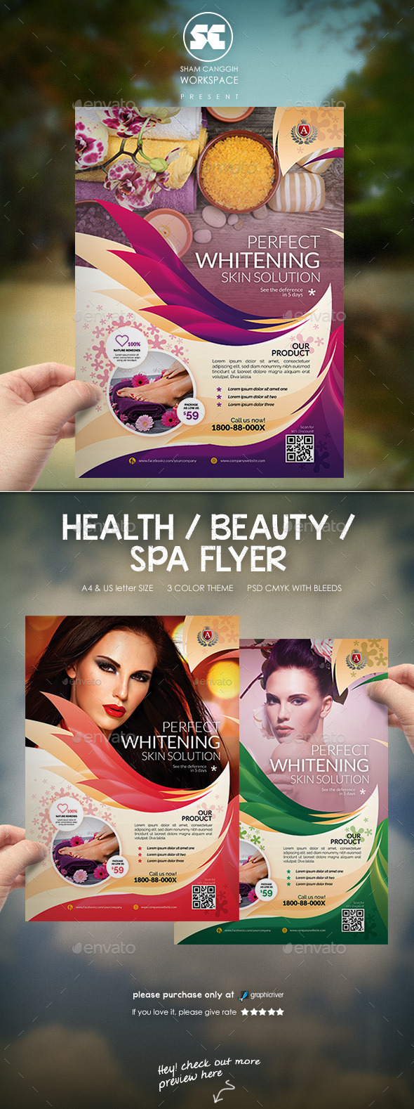 Modern Beauty Flyer Magazine Ads