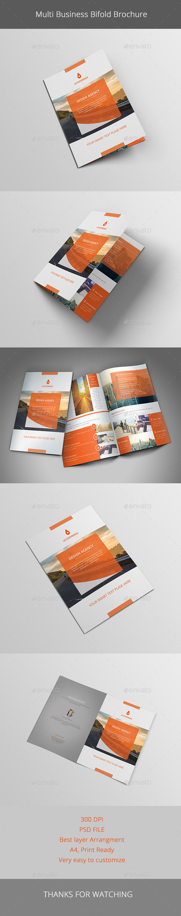 Multi Business Brochure - Brochures Print Templates