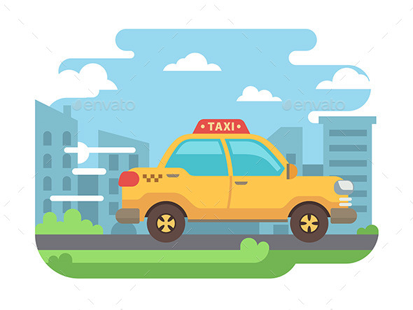 Yellow Taxi - Services Commercial / Shopping