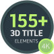 Ultimate 3D Titles Toolkit - VideoHive Item for Sale
