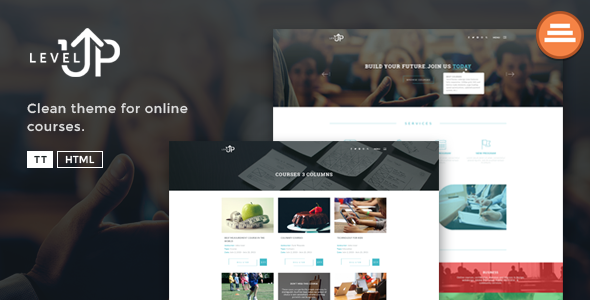 LevelUp – A Educational / Courses HTML Template