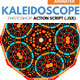 Animated Kaleidoscope Photoshop Tool - GraphicRiver Item for Sale