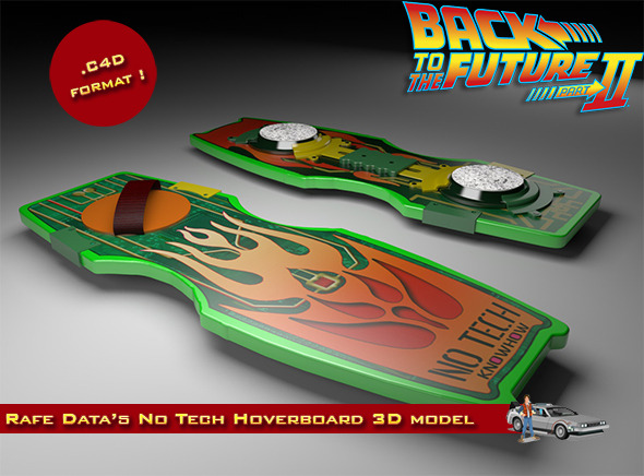 Rafe Data Unger No Tech Hoverboard - 3DOcean Item for Sale