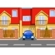 Car Near the Garage - GraphicRiver Item for Sale
