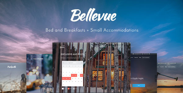 Bellevue – Bed & Breakfast + Small Hotel Booking Theme