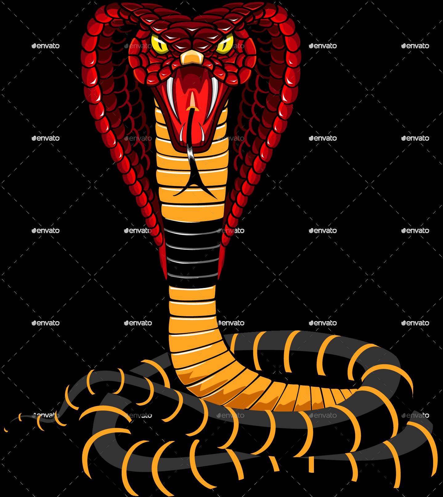 Cobra Snake Illustration By Ashmarka Graphicriver