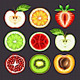 Fresh Fruit Slices - GraphicRiver Item for Sale