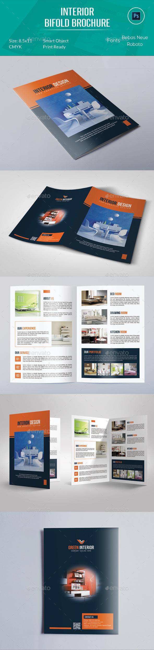 Interior Bifold Brochure - Corporate Brochures