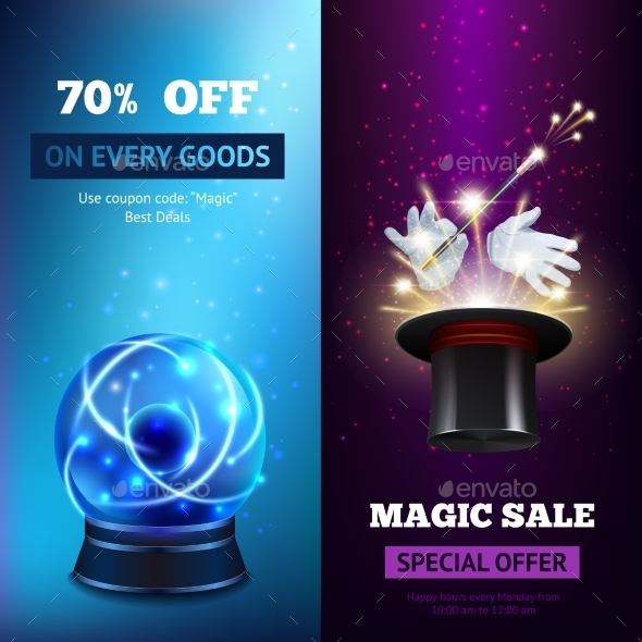 Magic Banners - Backgrounds Decorative