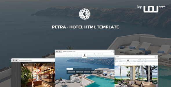 Petra – Hotel, Resort, Bed & Breakfast HTML Template