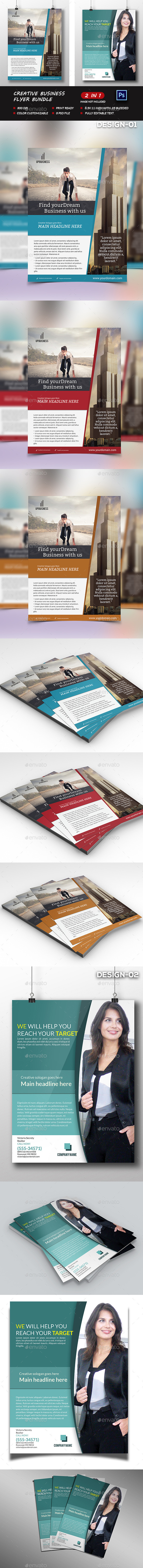 Creative business Flyer Bundle. - Flyers Print Templates