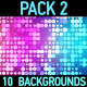 Abstract Backgrounds Pack 2 - VideoHive Item for Sale