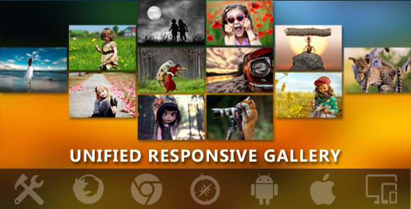 Gallerify Responsive Unified Photo Gallery Pro