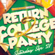 Return 2 College Flyer Template - GraphicRiver Item for Sale