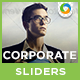 Corporate Sliders - 10 Designs - GraphicRiver Item for Sale