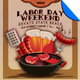 The Labor Day Weekend BBQ Flyer Template