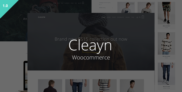 Cleayn – Clean & Sleek Woocommerce Theme