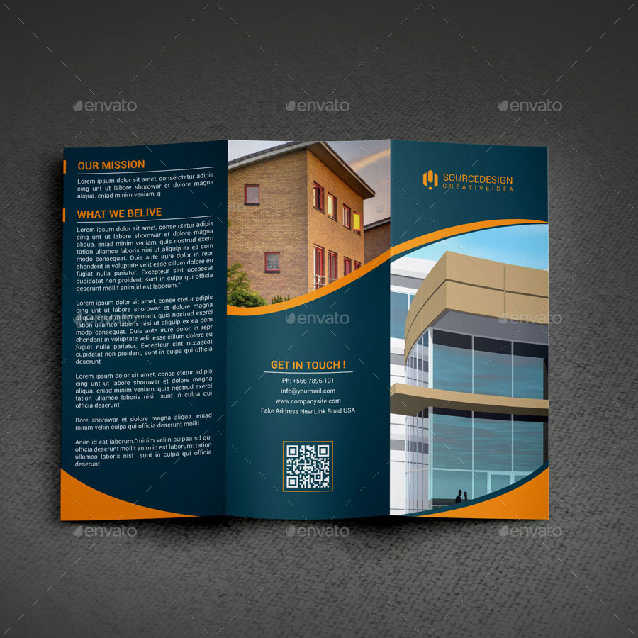 New Start Real Estate Company Trifold Brochure by thedesignsource ...