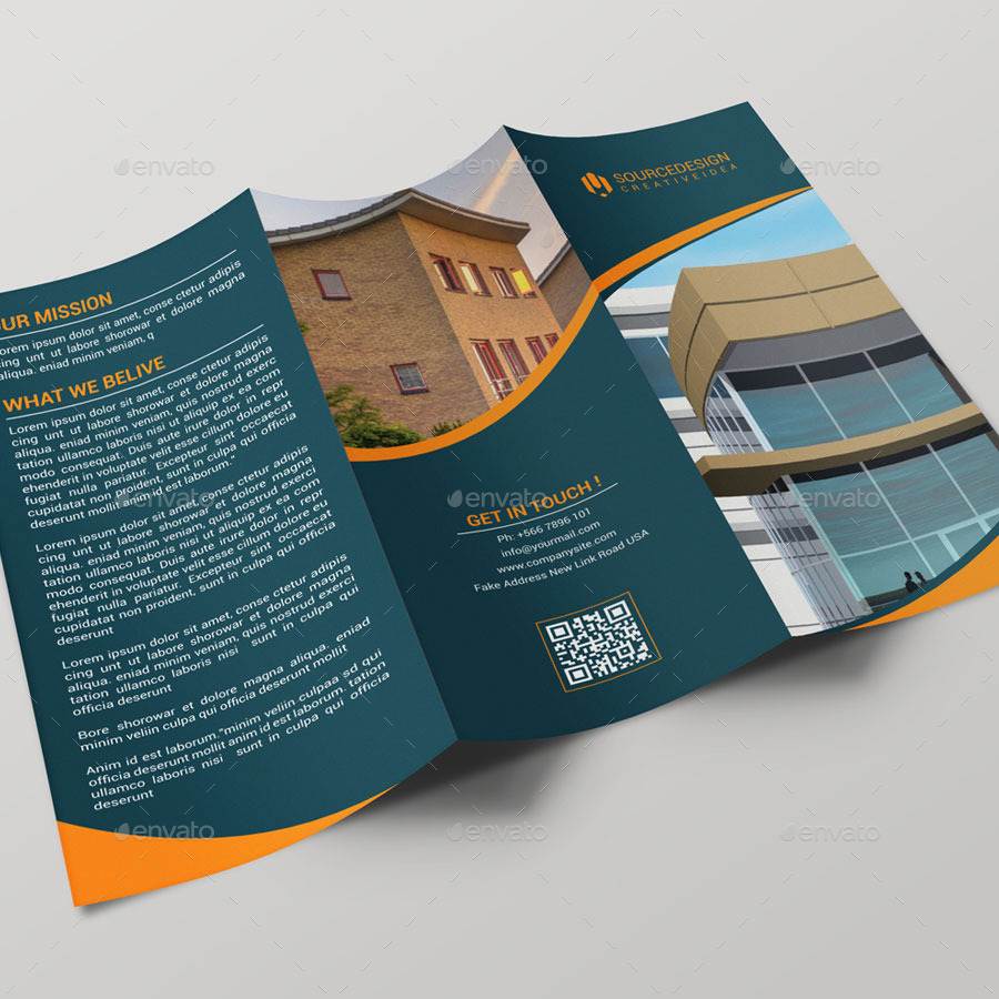 New Start Real Estate Company Trifold Brochure By Thedesignsource - Real estate tri fold brochure template
