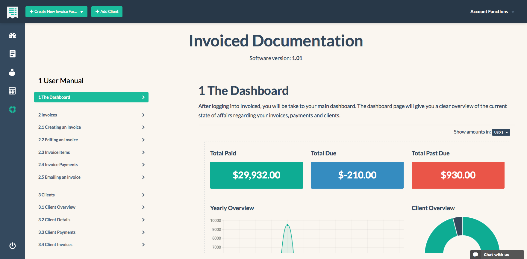 Innvoice Flexible Invoicing Application With API By Chillyorange - Invoice making app