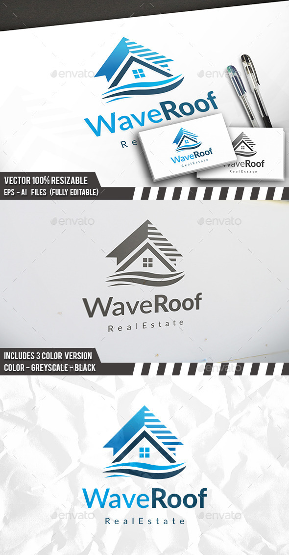 Wave Real Estate Logo