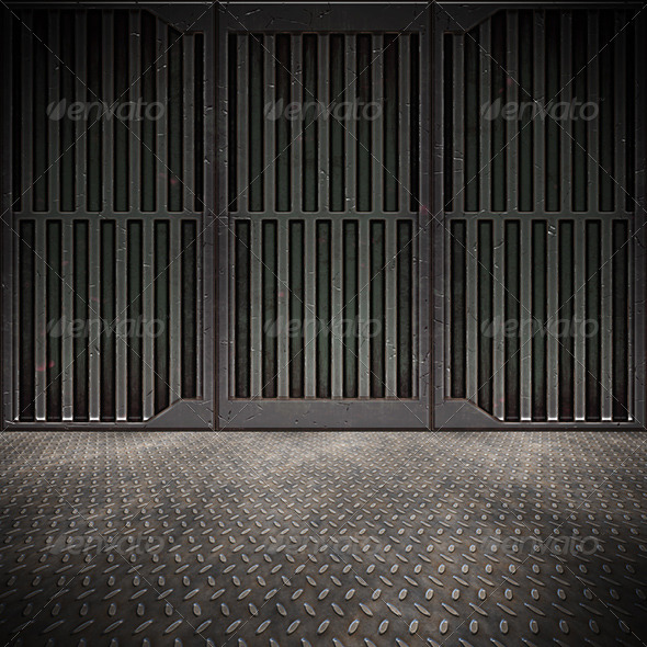 Steel Floor - Backgrounds Graphics
