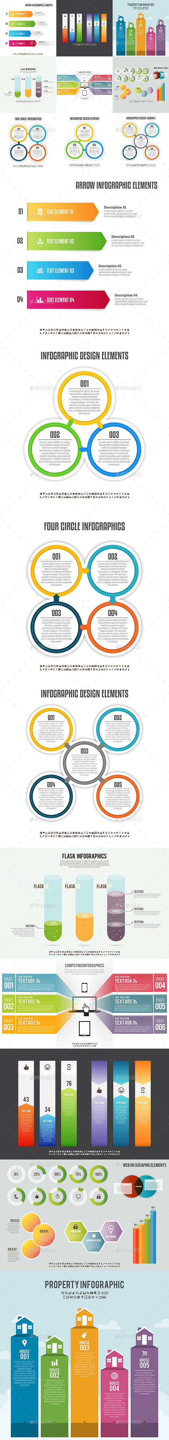 Infographic Set 5 - Infographics