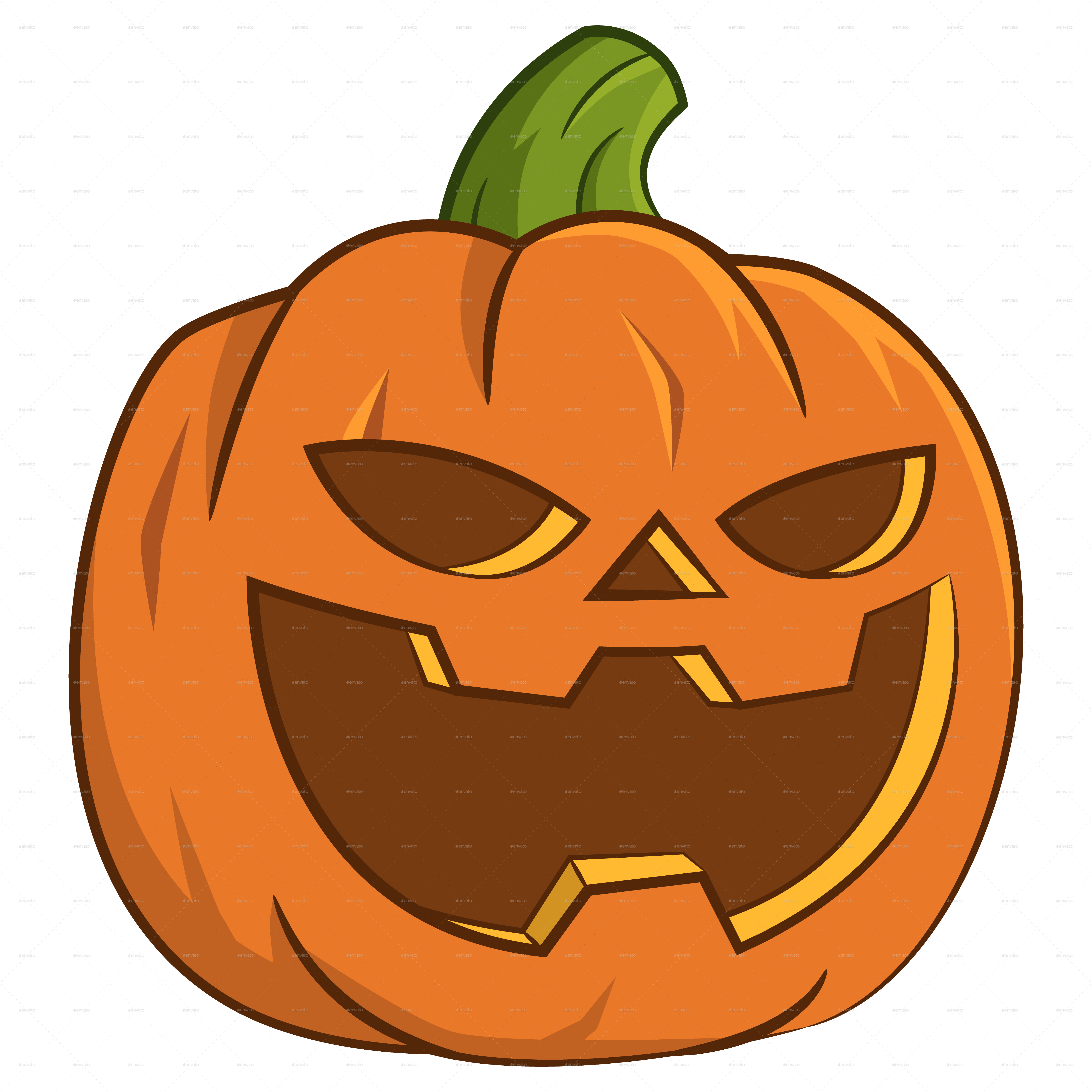 Pumpkin for Halloween. by Gatts   GraphicRiver