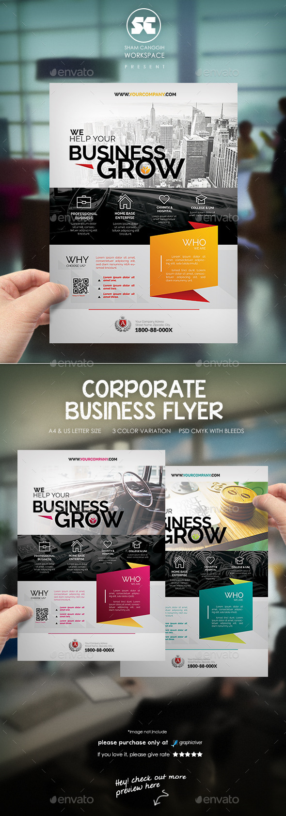 Corporate Business Flyer / Magazine Ads - Corporate Flyers