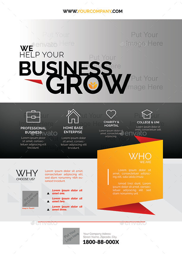 corporate business flyer    magazine ads by shamcanggih
