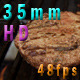 Flipping A Hamburger On The Grill - VideoHive Item for Sale