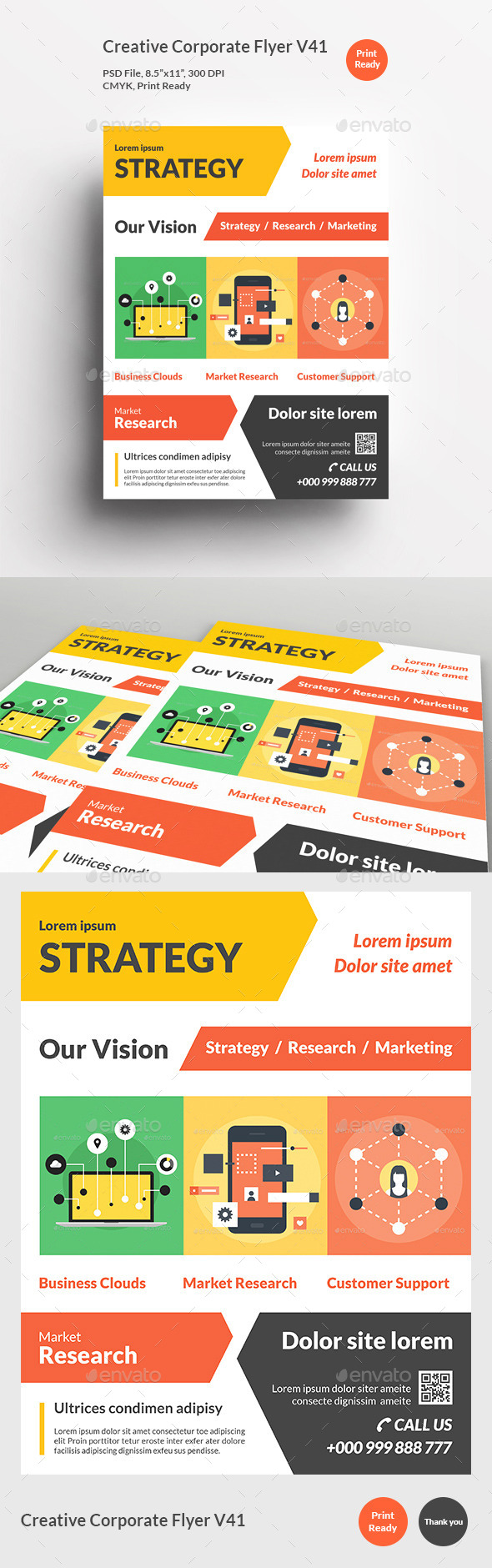 Creative Corporate Flyer V41