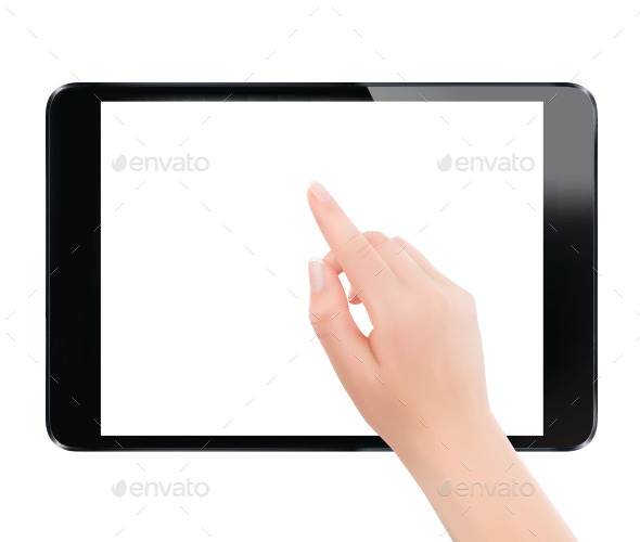 Finger Touching Pad PC - Concepts Business