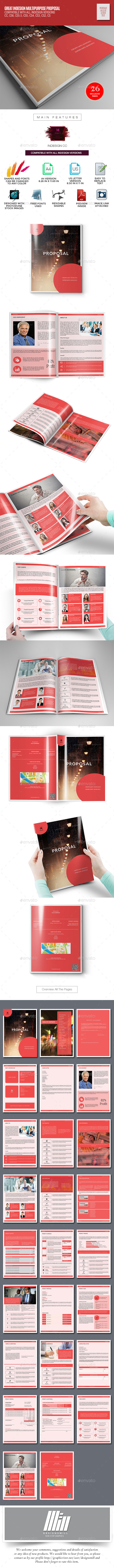 Easy Business Proposal - Proposals & Invoices Stationery