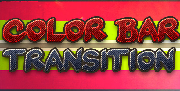 Color Bar Transition 9 Pack