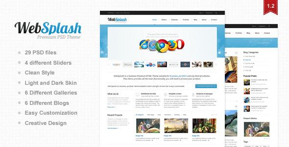 Free Download Web Splash Nulled Latest Version
