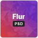 Flur - Creative PSD Template - ThemeForest Item for Sale